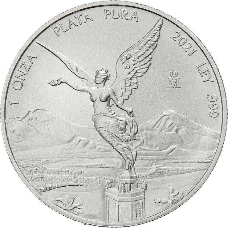 Mexiko Silber-Unze 2021 Siegesgöttin