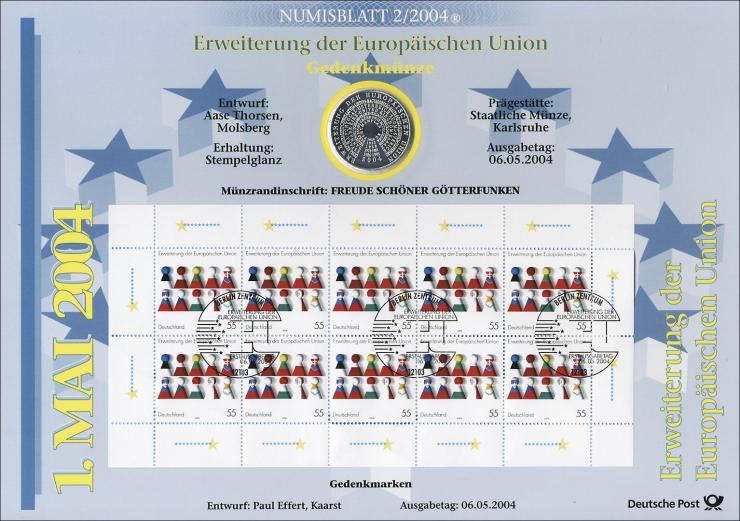 2004/2 Erweiterung der Europäischen Union - Numisblatt