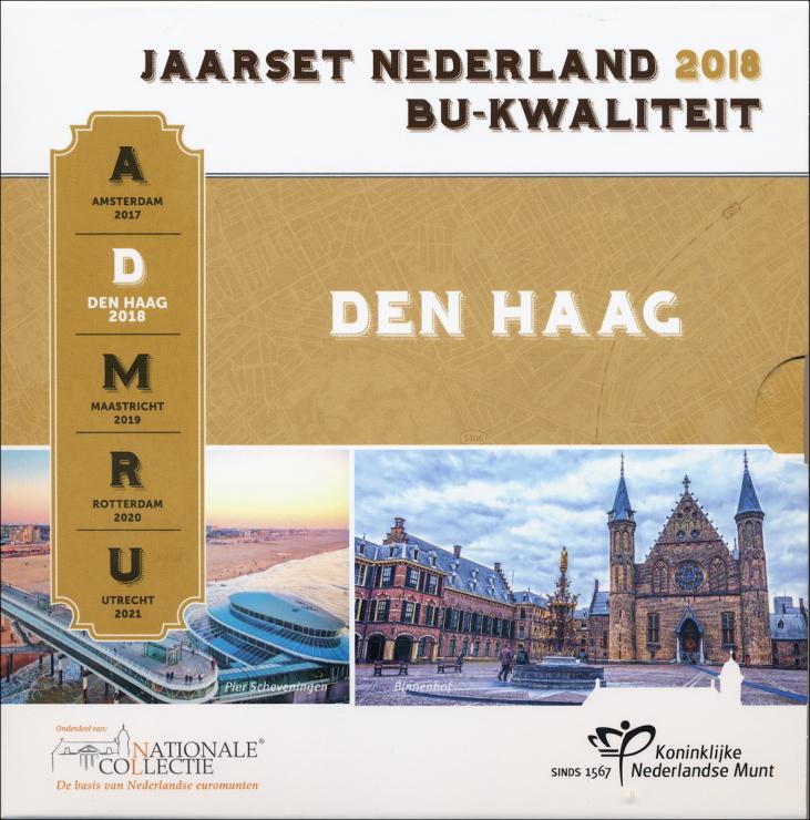 """Niederlande Euro-KMS 2018 """"Den Haag"""" Folder"""