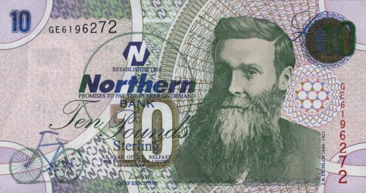 Nordirland / Northern Ireland P.206 10 Pounds 2005 (1)