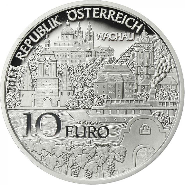 Österreich 10 Euro 2013 Vorarlberg Silber PP