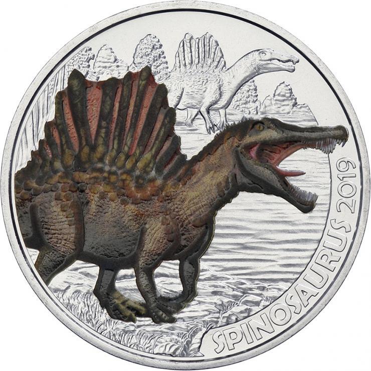 Österreich 3 Euro 2019 Spinosaurus