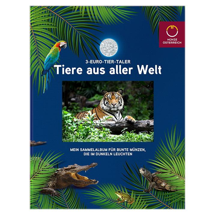 Österreich 3-Euro-Tier-Taler-Sammelalbum