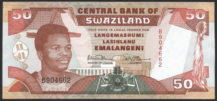Swasiland / Swaziland P.22a 50 Emalangeni (1990) (1)
