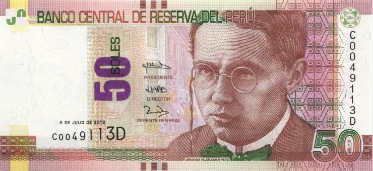 Peru P.194 50 Soles 2018 (1)