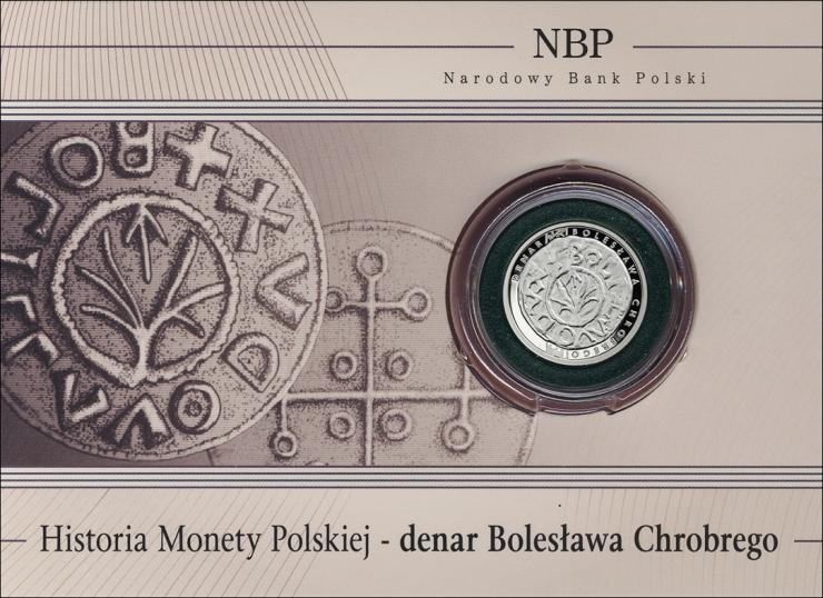 Polen 5 Zlote 2013 (Silber) Boleslaw I PP