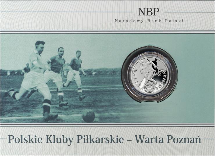 Polen 5 Zlote 2013 (Silber) Warta Poznan PP
