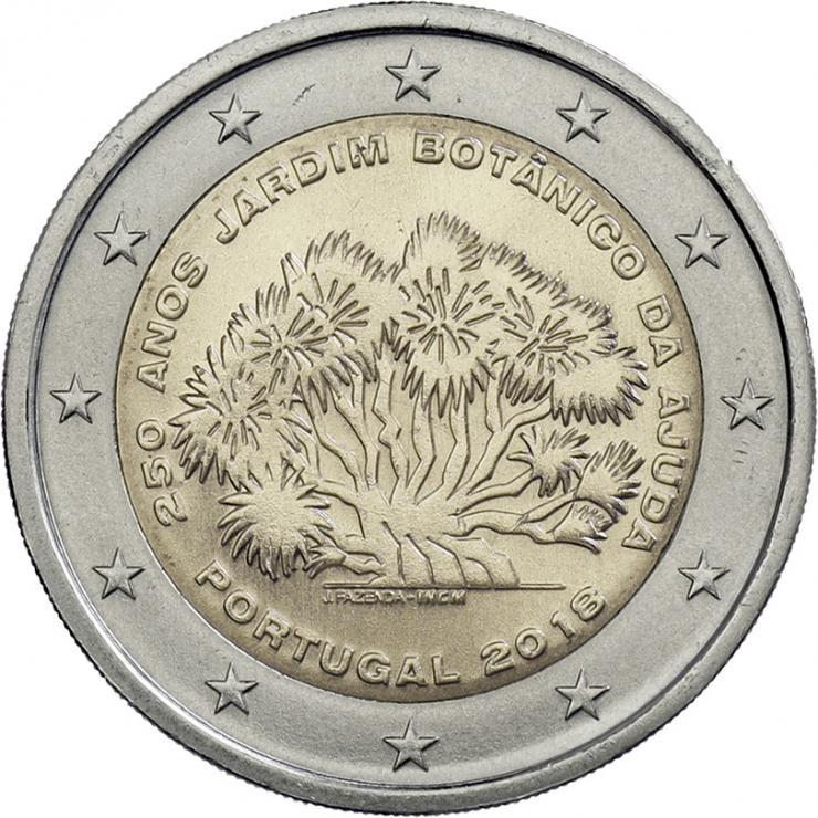 Portugal 2 Euro 2018 250 J. Botanischer Garten