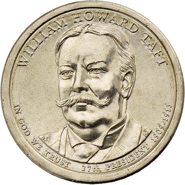 USA 1 Dollar 2013 27. William Howard Taft