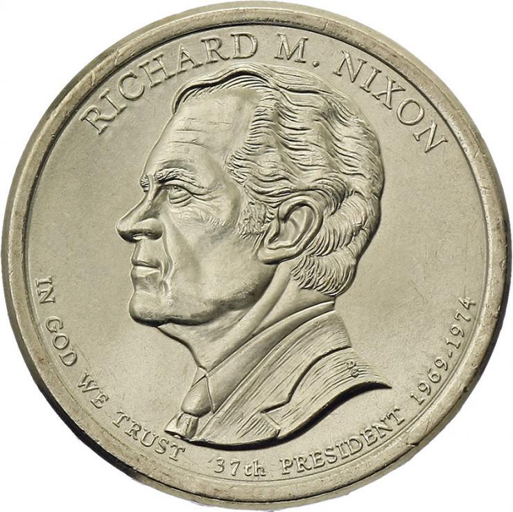 USA 1 Dollar 2016 37. Richard M. Nixon