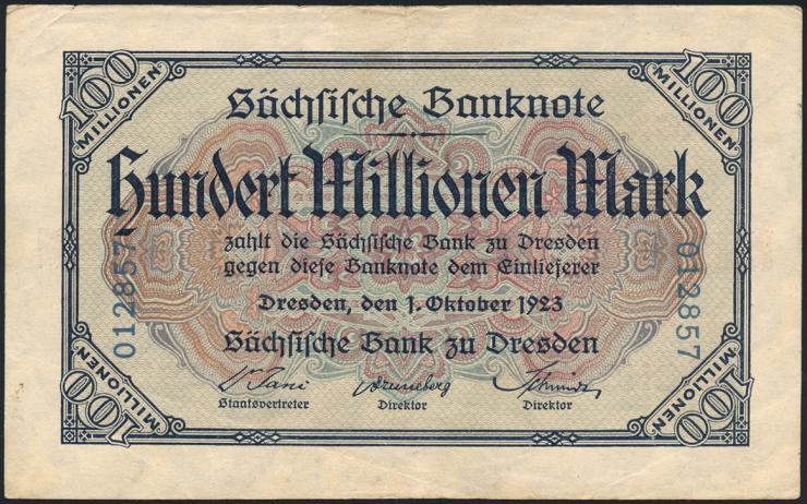 R-SAX 21: 100 Mio. Mark 1923 (3)