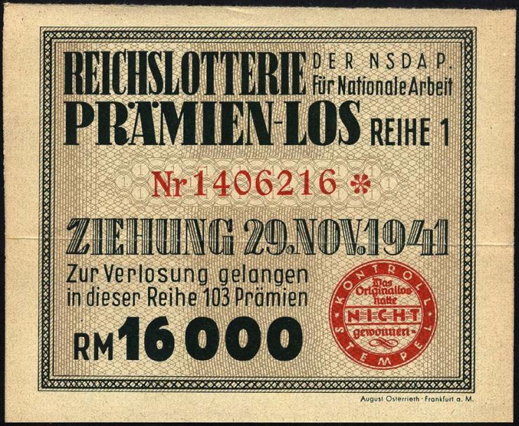 Reichslotterie der NSDAP (2)