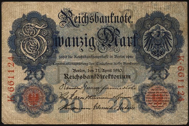 R.040a: 20 Mark 1910 6-stellig (3)