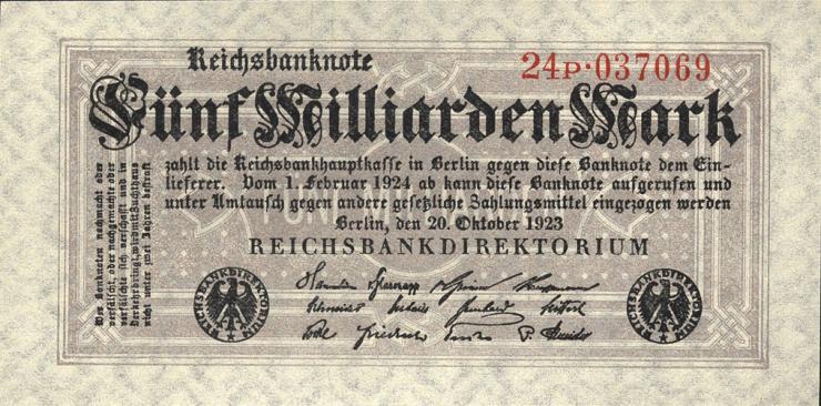 R.120b: 5 Milliarden Mark 1923 (1)