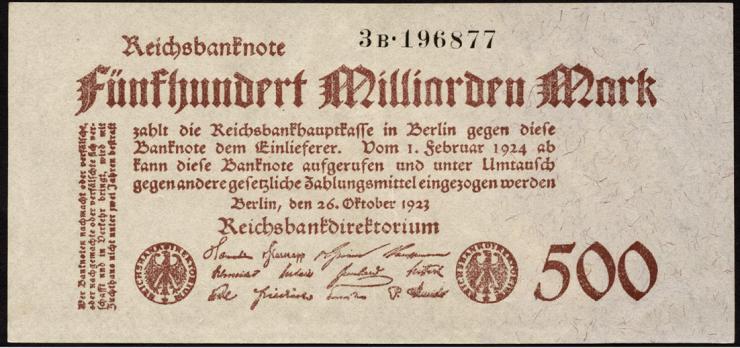 R.124d: 500 Mrd. Mark 1923 (1/1-)