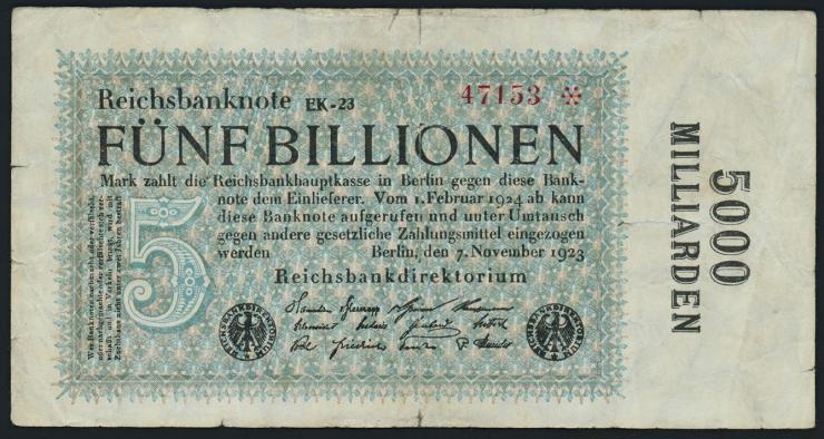 R.133e: 5 Billionen Mark 1923 (4)