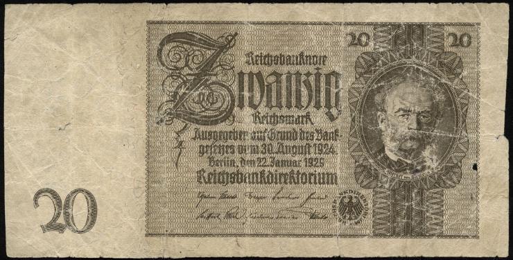 R.174d: 20 Reichsmark 1929 (5)