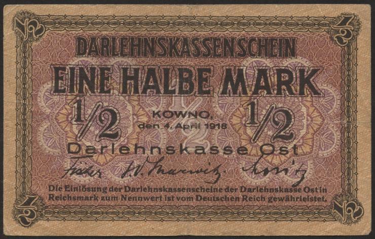 R.464: 1/2 Mark 1918 (2)