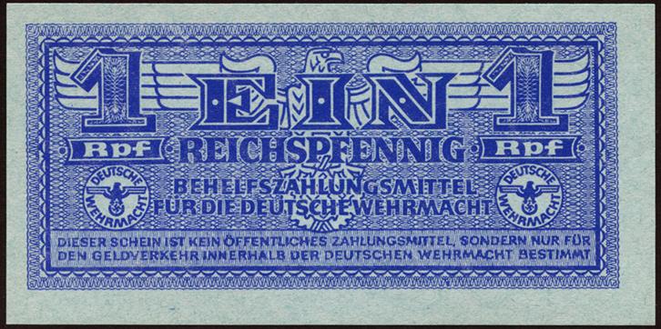 R.501-506: 1 Reichspfennig-2 Reichsmark Wehrmacht (1942) (1)