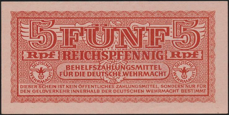 R.508A: 5 Reichspfennig Stempel Saloniki (1)