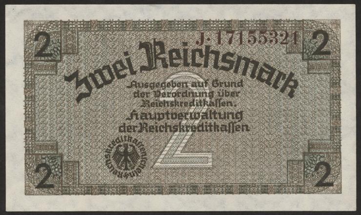 R.552b: 2 Reichsmark (1939) Reichskreditkasse (1)