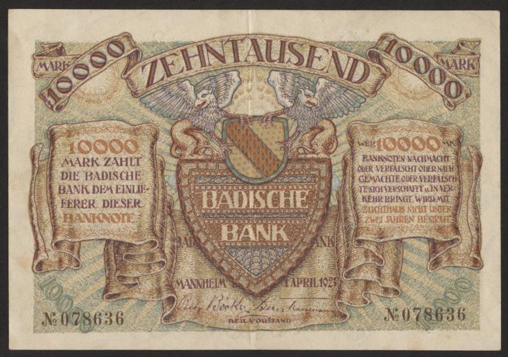 R-BAD 09a: 10000 Mark 1923 (2)