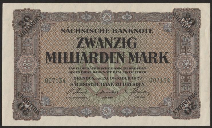 R-SAX 22: 20 Mrd. Mark 1923 (1/1-)