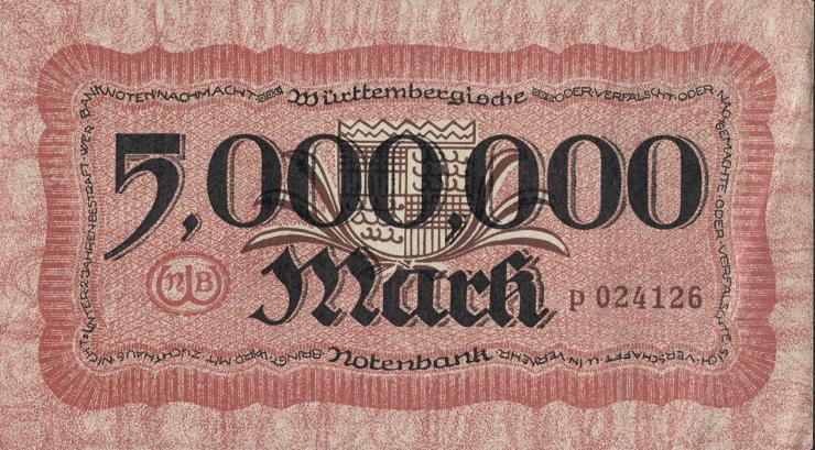 R-WTB 19: 5 Mio. Mark 1923 (1)