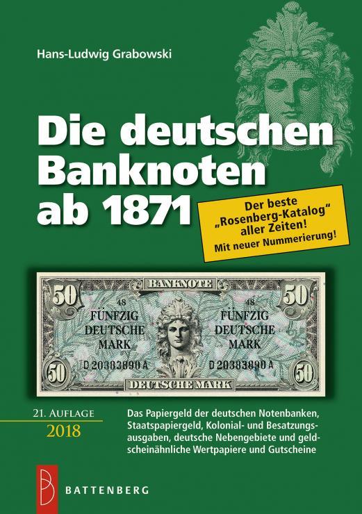 Rosenberg-Katalog 21. Auflage 2017