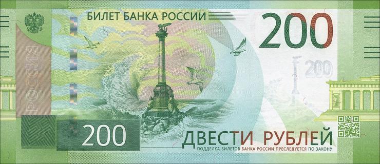 Russland P.neu 200 Rubel 2017 (1)