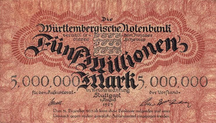 R-WTB 19: 5 Mio. Mark 1923 (2)