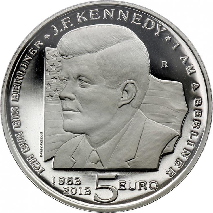 San Marino 5 Euro 2013 John F. Kennedy