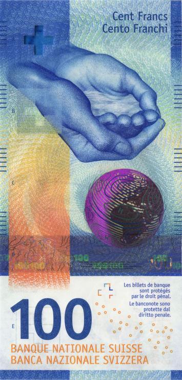 Schweiz / Switzerland P.78 100 Franken (20)17 (1)