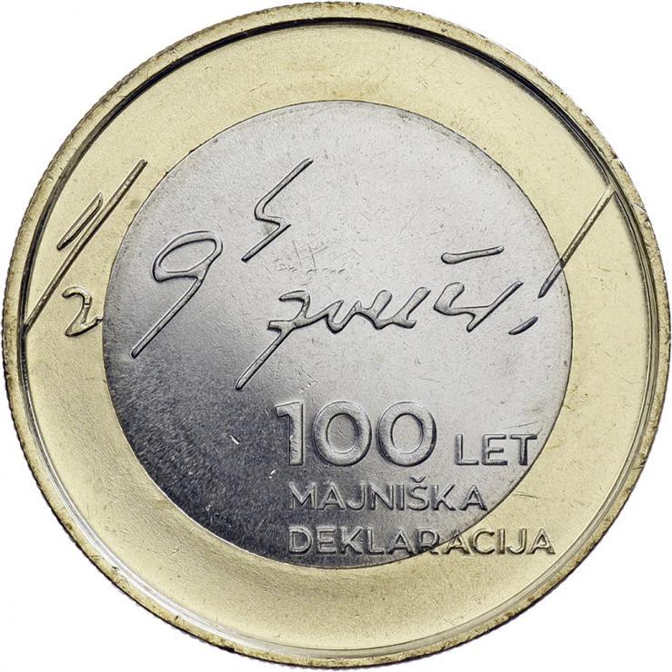 Slowenien 3 Euro 2017 Mai-Deklaration