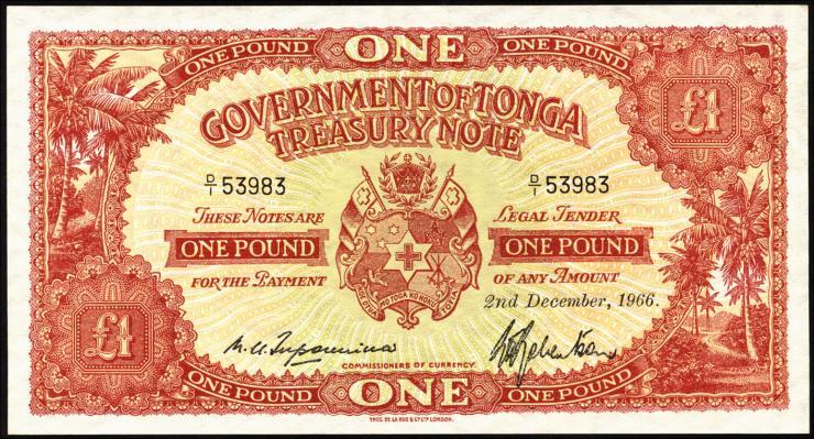 Tonga P.11e 1 Pound 1966 (1)