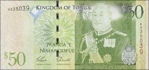 Tonga P.42 50 Pa'anga (2008) (1)
