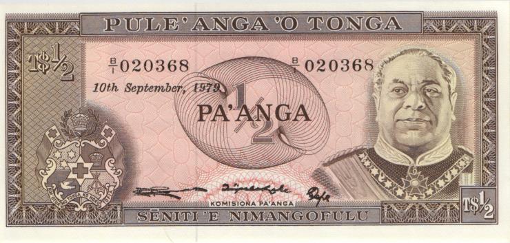 Tonga P.18b 1/2 Pa´anga 1979 (1)