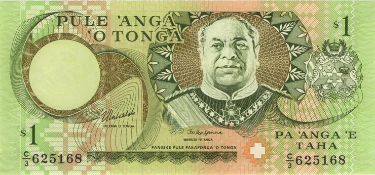 Tonga P.31c 1 Pa´anga (1995) (1)