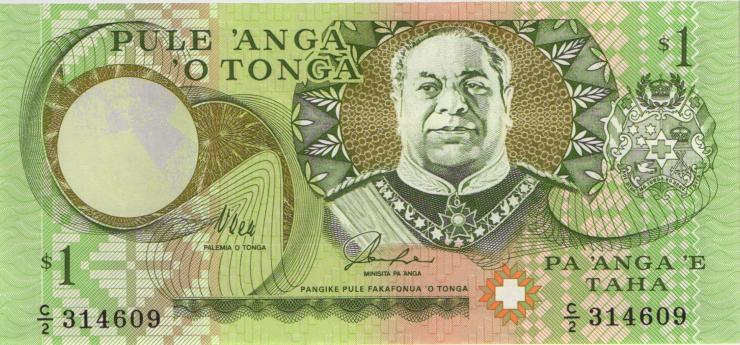 Tonga P.31b 1 Pa´anga (1995) (1)