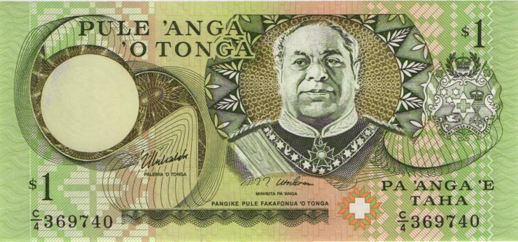 Tonga P.31d 1 Pa´anga (1995) (1)