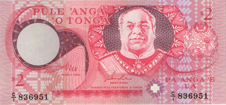 Tonga P.32a 2 Pa´anga (1995) (1)