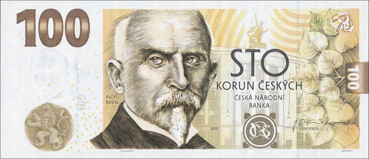 Tschechien / Czech Republic P.neu 100 Kronen 2019 Gedenbanknote (1)