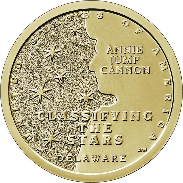 USA 1 Dollar 2019 Annie Jump Cannon - Delaware
