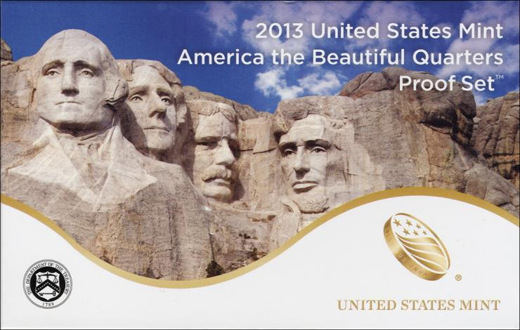 USA Quarter-Set 2013 Proof