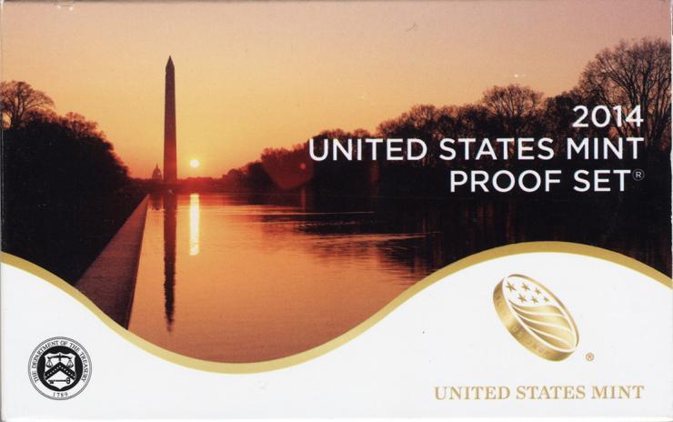 USA Mint Proof Set 2014