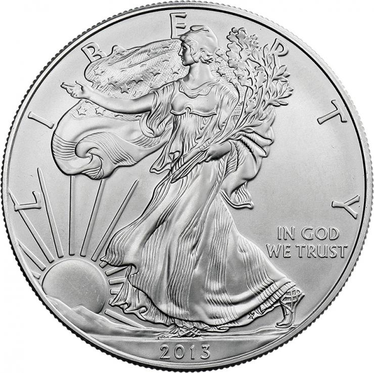 USA Silber-Unze 2013 Eagle/ Liberty