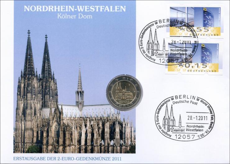 V-357 • Nordrhein-Westfalen Kölner Dom > G