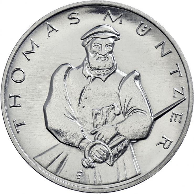 DDR-Medaille Thomas Müntzer  V-013