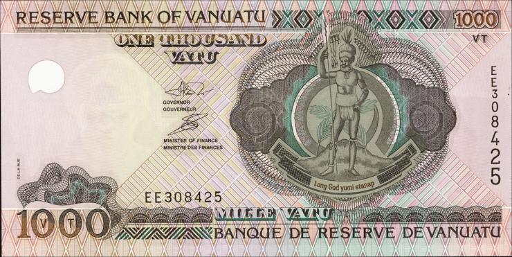 Vanuatu P.10a 1000 Vatu (2002) (1)