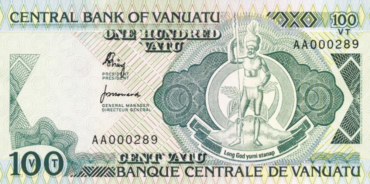 Vanuatu P.01 100 Vatu (1982) (1)